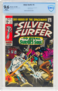 The Silver Surfer #9 (Marvel, 1969) CBCS NM+ 9.6 White pages