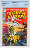 Silver Age (1956-1969):Superhero, The Silver Surfer #10 (Marvel, 1969) CBCS VF/NM 9.0 White pages....