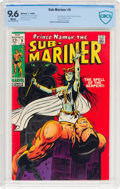 Silver Age (1956-1969):Superhero, The Sub-Mariner #9 (Marvel, 1969) CBCS NM+ 9.6 White pages....