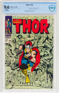 Silver Age (1956-1969):Superhero, Thor #154 (Marvel, 1968) CBCS NM+ 9.6 White pages....