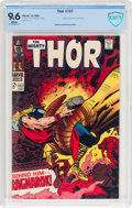 Silver Age (1956-1969):Superhero, Thor #157 (Marvel, 1968) CBCS NM+ 9.6 White pages....
