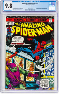 The Amazing Spider-Man #137 (Marvel, 1974) CGC NM/MT 9.8 White pages