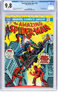 The Amazing Spider-Man #136 (Marvel, 1974) CGC NM/MT 9.8 White pages