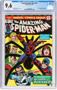 The Amazing Spider-Man #135 (Marvel, 1974) CGC NM+ 9.6 White pages