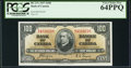 Canadian Currency, BC-27c $100 1937 PCGS Very Choice New 64PPQ.. ...