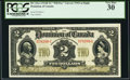 Canadian Currency, DC-22a-i $2 2.1.1914 PCGS Very Fine 30.. ...