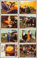 "Movie Posters:Science Fiction, The Night the World Exploded! (Columbia, 1957). Lobby Card Set of 8 (11"" X 14""). Science Fiction.. ... (Total: 8 Items)"