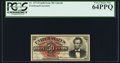 Fr. 1374 50¢ Fourth Issue Lincoln PCGS Very Choice New 64PPQ