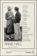 """Movie Posters:Comedy, Annie Hall (United Artists, 1977). Folded, Fine/Very Fine.Autographed One Sheet (27"""" X 41""""). Comedy.. ..."""
