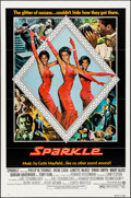 "Movie Posters:Black Films, Sparkle (Warner Brothers, 1976). Folded, Very Fine-. One Sheets (2) Identical (27"" X 41"") Style B. Black Films.. ... (Total: 2 Items)"