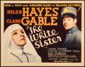 "Movie Posters:Drama, The White Sister (MGM, 1933). Very Fine. Title Lobby Card (11"" X14""). Drama.. ..."