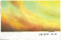 Original Comic Art:Miscellaneous, Heavy Metal 2000 Holy Land Pyramid Background Painting Original Art(Heavy Metal, 2000). This incredible out of focus sky wa...