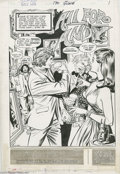 Original Comic Art:Splash Pages, Win Mortimer and Tony DeZuniga - Girl's Love #170, page 1 SplashPage Original Art (DC, 1972). The passion and pinot noir is...