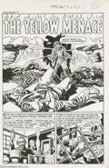 "Original Comic Art:Complete Story, Rudy Palais - Witches Tales #4 Complete 5-page Story ""The YellowMenace"" Original Art (Harvey, 1951). Absolute power corrupt...(Total: 5 Original Art Item)"