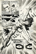 Original Comic Art:Splash Pages, Jim Sherman and The Tribe - The Deadly Hands of Kung Fu #27, page23 Splash Page Original Art (Marvel, 1976). The title of t...
