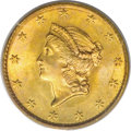 Gold Dollars, 1849 G$1 No L MS66 PCGS....