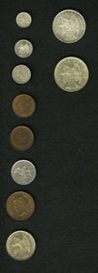 Chile, Chile: Republic High Grade Assortment,... (Total: 10 coins)