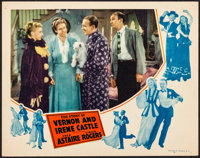 """The Story of Vernon and Irene Castle (RKO, 1939). Very Fine. Lobby Card (11"""" X 14""""). Musical"""