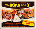 "Movie Posters:Musical, The King and I (20th Century Fox, 1956). Folded, Very Fine-. Half Sheet (22"" X 28""). Mitchell Hooks Artwork. Musical.. ..."