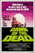 "Movie Posters:Horror, Dawn of the Dead (United Film Distribution, 1978). Folded, Five/Very Fine. One Sheet (27"" X 41"") Green Style. Horror.. ..."