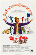 "Movie Posters:Fantasy, Willy Wonka & the Chocolate Factory (Paramount, 1971). Folded, Very Fine-. One Sheet (27"" X 41""). Fantasy.. ..."