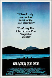 "Stand By Me (Columbia, 1986). Folded, Very Fine-. One Sheet (27"" X 41""). Adventure"