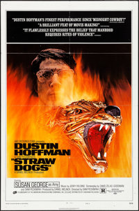 """Straw Dogs (Cinerama Releasing, 1972). One Sheet (27"""" X 41"""") Style D. Crime"""