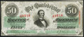 Confederate Notes:1863 Issues, T57 $50 1863 PF-12 Cr. 415 Very Fine.. ...