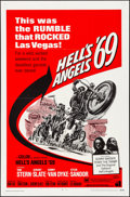 "Movie Posters:Exploitation, Hell's Angels '69 (American International, 1969). Folded, VeryFine. One Sheet (27"" X 41""). Reynold Brown Artwork. Exploitat..."