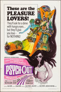 """Movie Posters:Exploitation, Psych-Out (American International, 1968). Fine/Very Fine. One Sheet(27"""" X 41""""). Exploitation.. ..."""