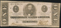 Confederate Notes:1863 Issues, T62 $1 1863 PF-10 Cr. 478 About Uncirculated.. ...