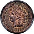 Proof Indian Cents, 1877 1C PR65 Brown PCGS Secure....