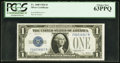 Small Size:Silver Certificates, Fr. 1600 $1 1928 Silver Certificate. PCGS Choice New 63PPQ.. ...