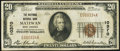 National Bank Notes:West Virginia, Matewan, WV - $20 1929 Ty. 1 The Matewan NB Ch. # 10370 Very Fine.....