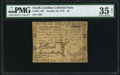 Colonial Notes:South Carolina, South Carolina October 19, 1776 $6 PMG Choice Very Fine 35 Net.....