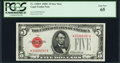 Small Size:Legal Tender Notes, Fr. 1528* $5 1928C Legal Tender Note. PCGS Gem New 65.. ...