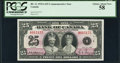 Canadian Currency, BC-11 $25 1935 Commemorative PCGS Choice About New 58.. ...