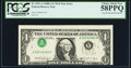 Error Notes:Inverted Third Printings, Fr. 1917-A $1 1988A Federal Reserve Web Note. PCGS Choice About New 58PPQ.. ...