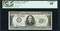 Small Size:Federal Reserve Notes, Fr. 2201-L $500 1934 Federal Reserve Note. PCGS Extremely Fine 40.. ...