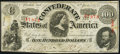 Confederate Notes:1863 Issues, T56 $100 1863 PF-1 Cr. 403 Extremely Fine.. ...