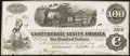 Confederate Notes:1862 Issues, T40 $100 1862 PF-1 Cr. 298 Very Fine.. ...