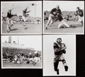 Football Collectibles:Photos, c. 1940s-50s Green Bay Packers Vintage Photograph Lot of 4....