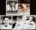 Autographs:Photos, Lefty Gomez Signed Image Lot of 10.... (Total: 10 items)