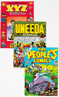 Underground Comix Group of 41 (Various Publishers, 1960s-90s) Condition: Average FN-.... (Total: 41 Comic Books)