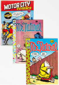 Underground Comix Group of 6 (Various Publishers, 1960s) Condition: Average FN.... (Total: 6 Comic Books)