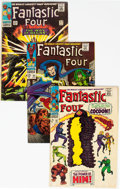 Silver Age (1956-1969):Superhero, Fantastic Four Group of 4 (Marvel, 1966-71) Condition: AverageVG.... (Total: 4 Items)