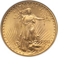 Saint-Gaudens Double Eagles: , 1908 $20 No Motto MS65 NGC. NGC Census: (10546/4838). PCGS Population: (25501/9945). MS65. Mintage 4,271,551. . From Th...