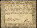 Colonial Notes:Maryland, Maryland December 7, 1775 $4 Very Fine-Extremely Fine.. ...