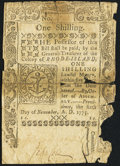 Colonial Notes:Rhode Island, Rhode Island November 6, 1775 1s Fine.. ...