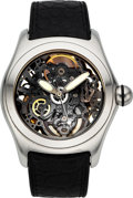 Timepieces:Wristwatch, Corum Bubble, Skeletonized Automatic Wristwatch. ...